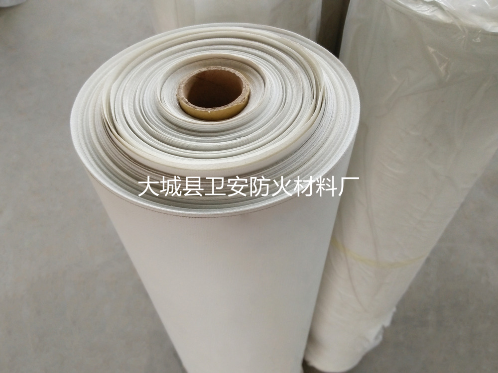 白色硅胶布